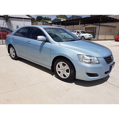 6/2009 Toyota Aurion AT-X GSV40R 4d Sedan Blue 3.5L