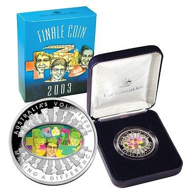 Australia $5 Silver Proof Coin 2003
