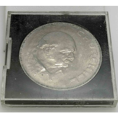 England 1965 Churchill Crown