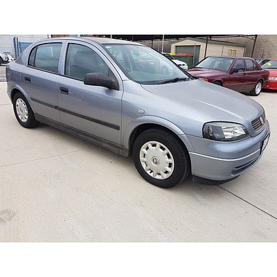6/2004 Holden Astra Classic TS 5d Hatchback Grey 1.8L