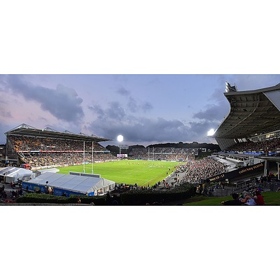 Four Captains' Club Tickets to Vodafone Warriors v Bulldogs, Mount Smart Stadium New Zealand,  Saturday March 16, 2019