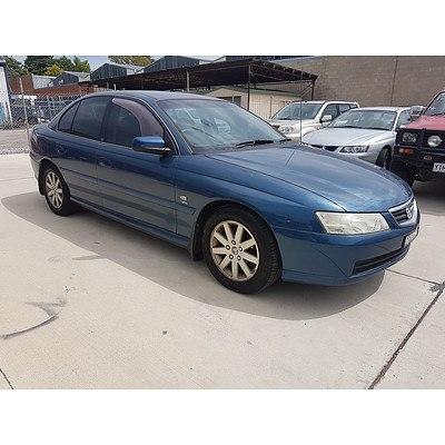 3/2003 Holden Berlina  VY 4d Sedan Blue 3.8L