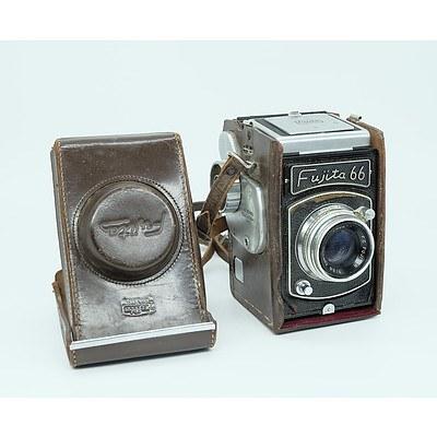 Fujita Kogaku 66 Camera with a Fujitar 1:3.5 Lens Circa 1958