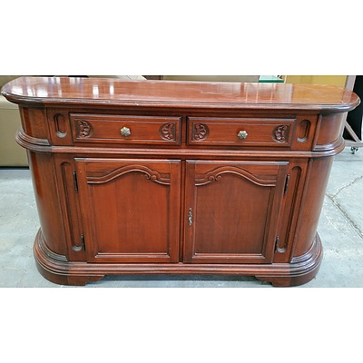 Contemporary Mahogany Side Board