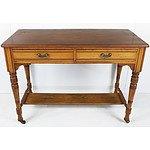 Mixed Hardwood Hall Table