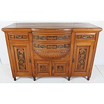 Australian Kauri Pine Sideboard Early 20th Century