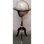 Royal Geographical Society World Globe on Stand