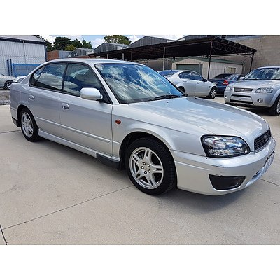 1/2002 Subaru Liberty Heritage (awd) MY02 4d Sedan Silver 2.5L