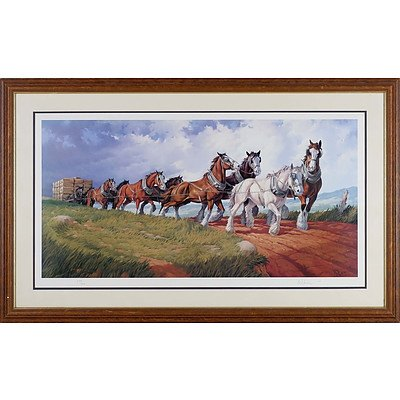 Warwick Deane Beating the Storm Limited Edition Print 250/950