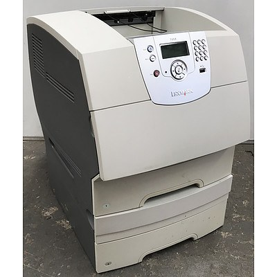 Lexmark T644 Black & White Laser Printer
