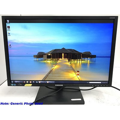 Samsung S24C650 FullHD 24 Inch Widescreen LED-Backlit LCD Monitor