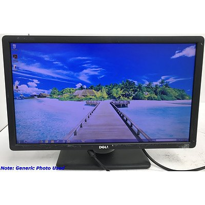 Dell P2212Hb FullHD 22 Inch Widescreen LED-Backlit LCD Monitor