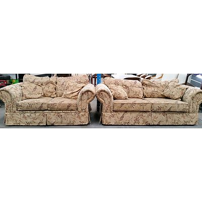 Furniture by Design Sofas - Lot of Two