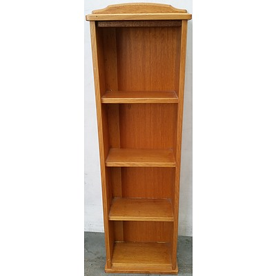 Ash Shelving Unit/DVD Stand