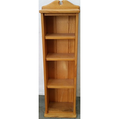 Ash Shelving Unit/DVD/CD Stand