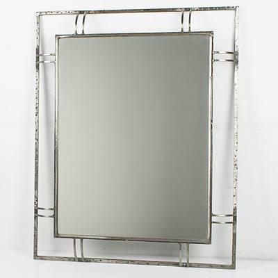 Wrought Metal Framed Mirror