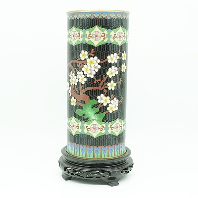 Chinese Cloisonne Enamel Hat Stand, Mid to Late 20th Century