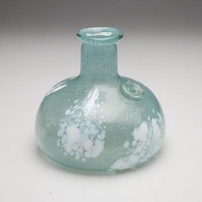 Ola Hoglund (b.1956-) Hand Made Art Glass Vase