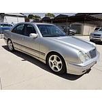 1/2002 Mercedes-Benz E320 Elegance 4d Sedan Silver 3.2L