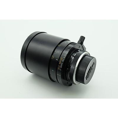 Tamron SP 1:8 500mm Telemacro Adaptall 2 Lens