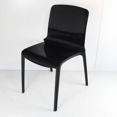 Four Casprini Tiffany Design Marcello Ziliani Designer Chairs