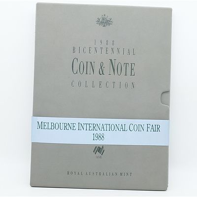 1988 Bicentennial Coin and Note Collection