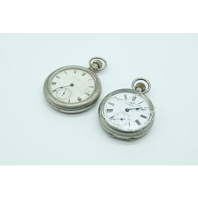 Macrow & Sons Pocket Watch and a Swiss Special Pocket Watch