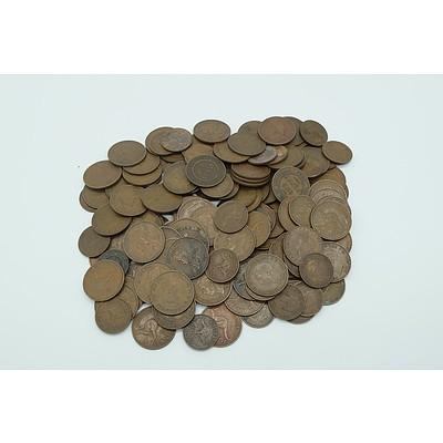 Group of George V, George VI Australian Pennies and Half Pennies