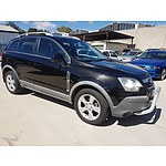 5/2007 Holden Captiva MAXX (4x4) CG 4d Wagon Black 3.2L