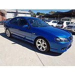 1/2008 Ford Falcon SR BF MKII 4d Sedan Blue 4.0L