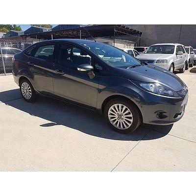 11/2010 Ford Fiesta LX WT 4d Sedan Grey 1.6L