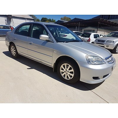 8/2003 Honda Civic GLi 7TH GEN 4d Sedan Silver 1.7L