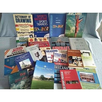 Assorted Books: Non-Fiction