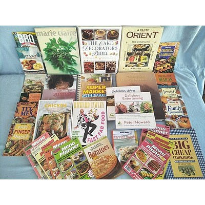 Assorted Books: Cookbooks