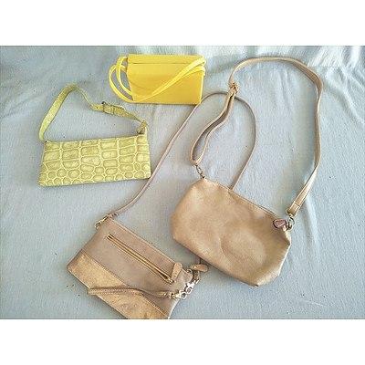 Assorted handbags & evening bags