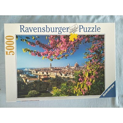 5000 piece Ravensburger Puzzle - View of Florence