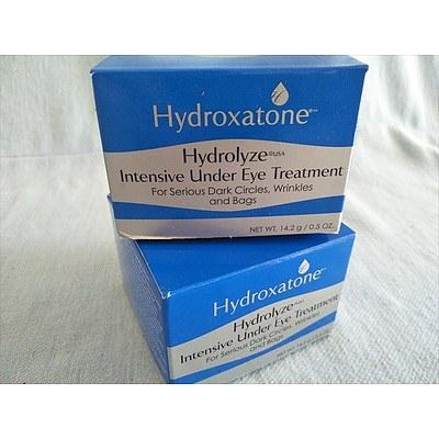 Hyrdroxatone Hydrolyze Intensive Under Eye Treatment 14.2g (NEW) - QTY 2
