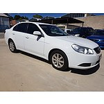 3/2010 Holden Epica CDX EP MY10 4d Sedan White 2.5L