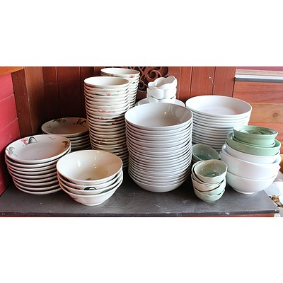 Selection of Serving Ware, Dining Ware, Utensils and Cutlery
