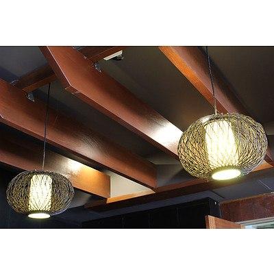 Ceiling Light Fittings - Lot of Six