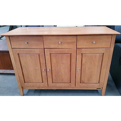 Diamond Creek Furniture Collection Maple Veneer Buffet