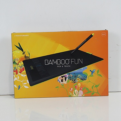 Bamboo Fun Pen and Touch Tablet