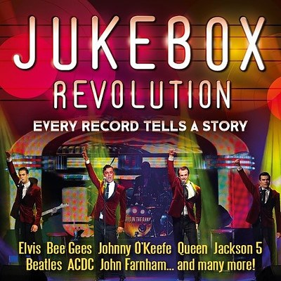 2 Tickets to Jukebox Revolution with Boys in the Band on 29 June 2019 - Valued at $126