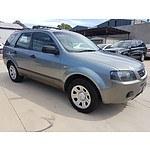 3/2006 Ford Territory TX (rwd) SY 4d Wagon Grey 4.0L
