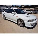 2/1999 Subaru Impreza WRX (awd) MY99 5d Hatchback White 2.0L