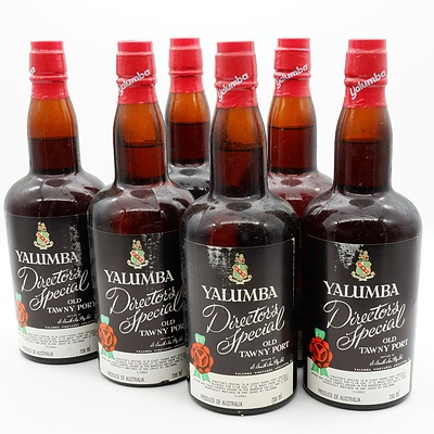Case of 6x Yalumba Director's Special Old Tawny Port 738ml