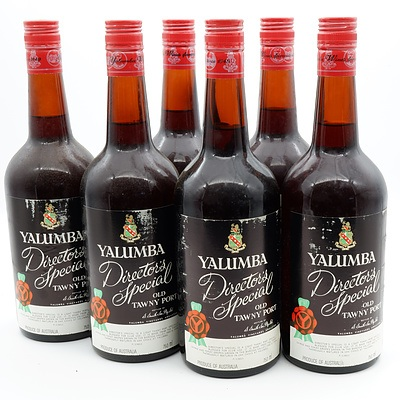Case of 6x Yalumba Director's Special Old Tawny Port 750ml