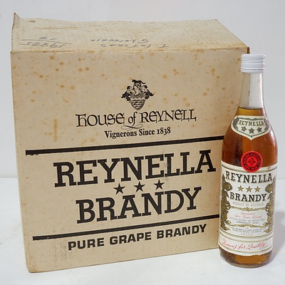 Case of 12x Reynella Brandy 1PT 6 FL OZ