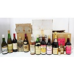 Large Group of Wine and Spirits
