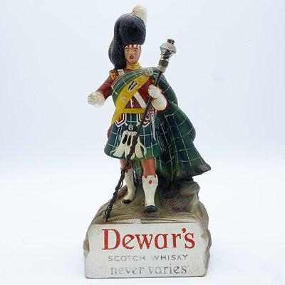 Dewar's Scotch Whisky Never Varies Advertising Figure